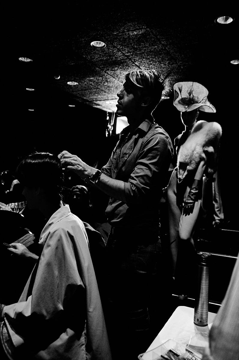 Backstage Santiago Bandrés