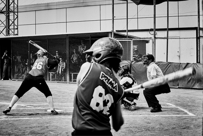 Final Partido softball - Fotoperiodismo